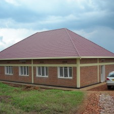 New Faith Victory Association office at the Rusororo site.